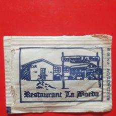 Pacotes de Açúcar de coleção: SOBRE AZÚCAR RESTAURANTE LA GORDA???. Lote 208923891