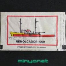 Pacotes de Açúcar de coleção: SOBRE DE AZÚCAR SERIE BARCOS - REMOLCADOR 1969. CAFÉS BRASILIA, 7 GR.. Lote 209091486