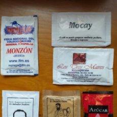 Pacotes de Açúcar de coleção: LOTE 6 SOBRES DE AZUCAR. Lote 209810698