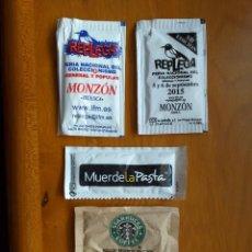 Pacotes de Açúcar de coleção: LOTE 5 SOBRES DE AZUCAR. Lote 209812697
