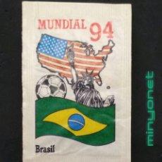 Bustine di zucchero di collezione: SOBRE DE AZÚCAR SERIE MUNDIAL 94 - BRASIL. CAFÉS BRASILIA. PRODUCTOS DEL CAFÉ, 10 GR.. Lote 209903061