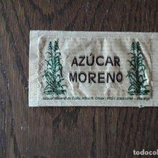 Sobres de azúcar de colección: SOBRE DE AZUCAR VACÍO, AZUCAR MORENO.. Lote 210614242