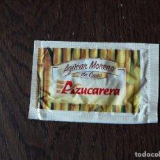 Sobres de azúcar de colección: SOBRE DE AZUCAR VACÍO, AZUCAR MORENO DE CAÑA, AZUCARERA. Lote 210614492