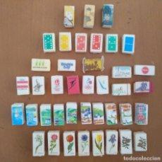 Sobres de azúcar de colección: 40 TERRONES DE AZUCAR TODOS DISTINTOS PROCEDENTES DE FRANCIA. Lote 212988843