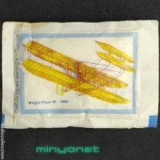 Sobres de azúcar de colección: SOBRE DE AZÚCAR SERIE AVIONES - WRIGHT FLYER III 1905. RAMPE, 10 GR.. Lote 218084292