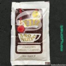 Sobres de azúcar de colección: SOBRE DE AZÚCAR DE CAFÉS SAULA ESPECIAL NAVIDAD. 8 GR.. Lote 218460670
