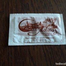 Sobres de azúcar de colección: SOBRE DE AZÚCAR VACÍO DE PUBLICIDAD, CAN MOLINOS, VALLDEMOSA. MALLORCA.. Lote 218536743