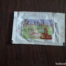 Bustine di zucchero di collezione: SOBRE DE AZÚCAR VACÍO DE PUBLICIDAD, DIBUJO INFANTIL FELIZ NAVIDAD, CAFÉS CAPUCHINOS.. Lote 220942077