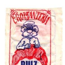 Sobres de azúcar de colección: SOBRE DE AZÚCAR PACKET OF SUGAR SUCRE ZUCKER ZUCCHERO CROISSANTERÍA RUIZ SORIA CROISANTERÍA....VER... Lote 221144867
