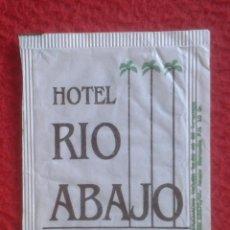 Sobres de azúcar de colección: SOBRE DE AZÚCAR PACKET OF SUGAR SUCRE ZUCKER ZUCCHERO HOTEL RIO ABAJO PLAYA DE MOJACAR ALMERÍA VER... Lote 221438636