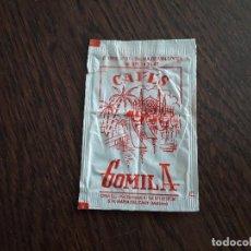 Sachets de sucre de collection: SOBRE DE AZÚCAR VACÍO DE PUBLICIDAD, CAFES GOMILA, PALMA DE MALLORCA.. Lote 221553523