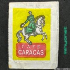 Sobres de azúcar de colección: SOBRE DE AZÚCAR DE CAFÉS CARACAS. CARECA, 7 GR.. Lote 221648262