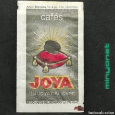Sobres de azúcar de colección: SOBRE DE AZÚCAR DE CAFÉS JOYA - CAFÉS DE COLOMBIA. EST. ULL, 8 GR.. Lote 221650290
