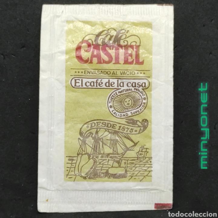 SOBRE DE AZÚCAR DE CAFÉ CASTEL. 10 GR. (Coleccionismos - Sobres de Azúcar)