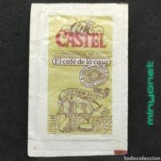 Sobres de azúcar de colección: SOBRE DE AZÚCAR DE CAFÉ CASTEL. 10 GR.. Lote 221754666