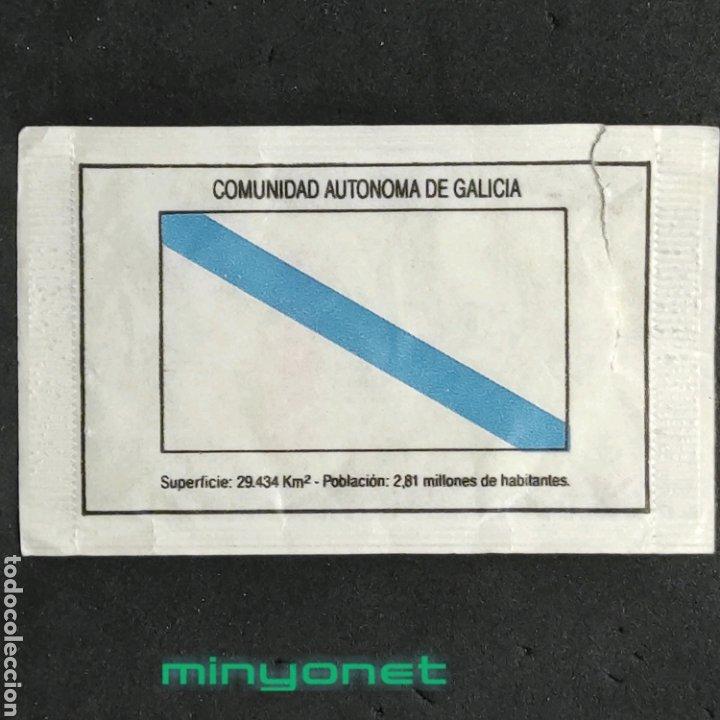 SOBRE DE AZÚCAR SERIE COMUNIDADES AUTÓNOMAS - GALICIA. CAFÉS BRASILIA, 10 GR (Coleccionismos - Sobres de Azúcar)