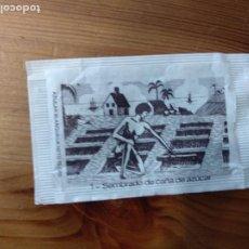 Sobres de azúcar de colección: SOBRE DE AZÚCAR VACIO SERIE ELABORACIÓN DEL AZÚCAR - 1. SUCREFI, PROMERCA, 10 GR.. Lote 221774103