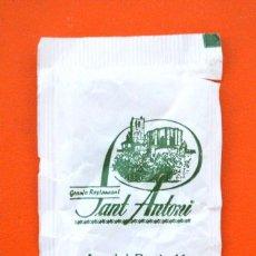 Sobres de azúcar de colección: SOBRE DE AZÚCAR VACIO DE PUBLICIDAD GRANJA RESTAURANT SANT ANTONI , SOLSONA , ESPAÑA. Lote 221929985