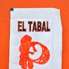 Sobres de azúcar de colección: SOBRE DE AZÚCAR VACIO DE PUBLICIDAD RESTAURANT EL TABAL , BERGA , ESPAÑA. Lote 221930441