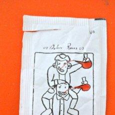 Sobres de azúcar de colección: SOBRE DE AZÚCAR VACIO DE PUBLICIDAD CARNAVAL SOLSONA SERIE 1/6 CONMEMORATIVO, SOLSONA, ESPAÑA. Lote 221932371