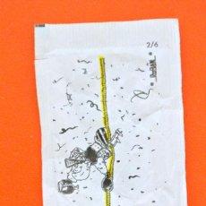 Sobres de azúcar de colección: SOBRE DE AZÚCAR VACIO DE PUBLICIDAD CARNAVAL SOLSONA SERIE 2/6 CONMEMORATIVO, SOLSONA , ESPAÑA. Lote 221932701