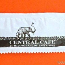 Sobres de azúcar de colección: SOBRE DE AZÚCAR VACIO DE PUBLICIDAD CENTRAL CAFE, BARCELONA , ESPAÑA. Lote 221933952