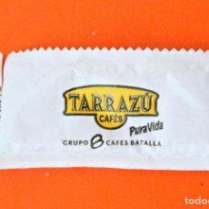 Sobres de azúcar de colección: SOBRE DE AZÚCAR VACIO DE PUBLICIDAD CAFÉS TARRAZÚ, LLEIDA , ESPAÑA. Lote 221937096