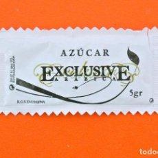 Sobres de azúcar de colección: SOBRE DE AZÚCAR VACIO DE PUBLICIDAD AZUCAR EXCLUSIVE ARABICA - CAFÉ MOCAY , ESPAÑA. Lote 221944245