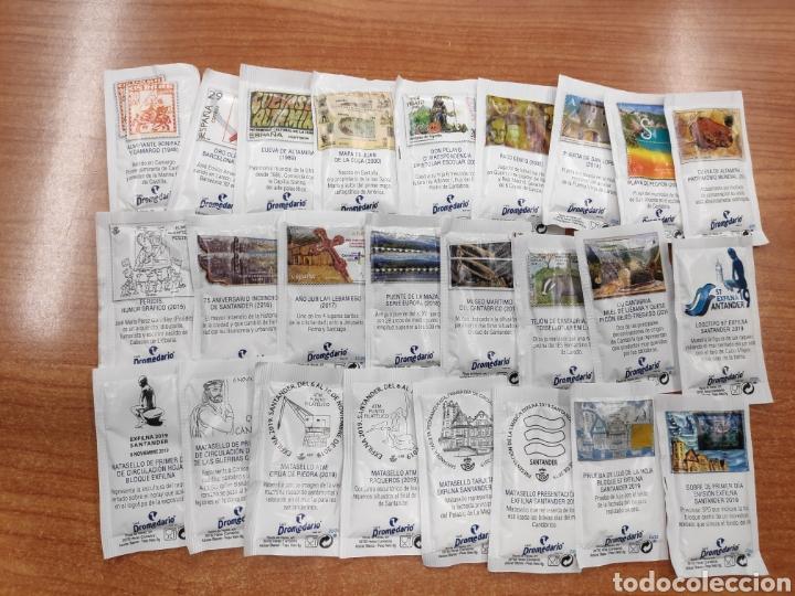 COLECCIÓN COMPLETA DE 25 AZUCARILLOS (Coleccionismos - Sobres de Azúcar)