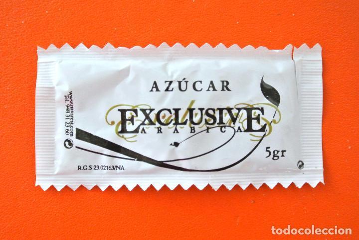SOBRE DE AZÚCAR VACIO DE PUBLICIDAD AZUCAR EXCLUSIVE ARABICA - CAFÉ MOCAY , ESPAÑA (Coleccionismos - Sobres de Azúcar)