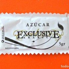 Sobres de azúcar de colección: SOBRE DE AZÚCAR VACIO DE PUBLICIDAD AZUCAR EXCLUSIVE ARABICA - CAFÉ MOCAY , ESPAÑA. Lote 222057731