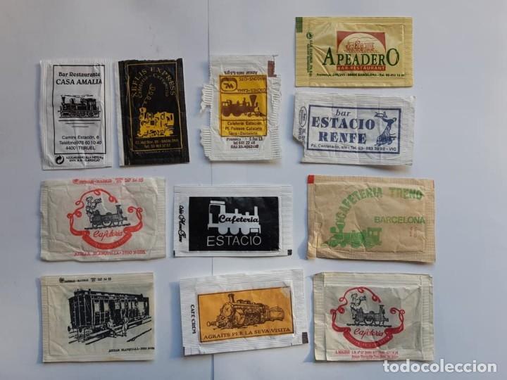 TRENES, AZUCARILLOS (Coleccionismos - Sobres de Azúcar)