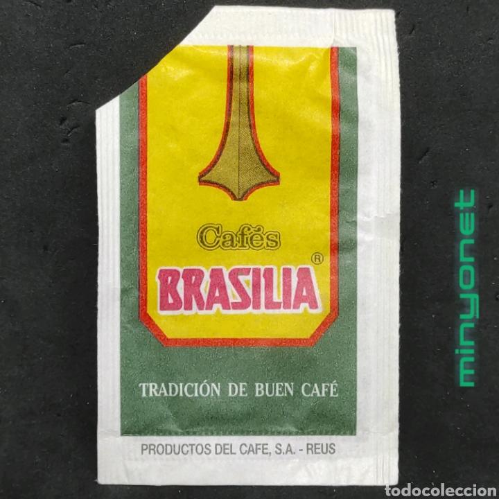 Sobres de azúcar de colección: Sobre de azúcar Serie Setas - Russula cyanoxantha. Cafés Brasilia, Productos del Cafe, 10 gr. - Foto 2 - 222313762