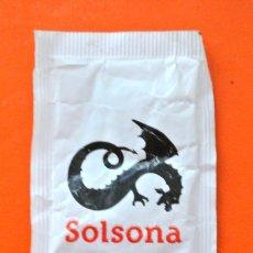 Sobres de azúcar de colección: SOBRE DE AZÚCAR VACIO DE PUBLICIDAD GREMI D'HOSTELERIA DEL SOLSONES, SOLSONA , ESPAÑA. Lote 228087460