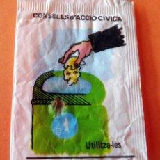 Bustine di zucchero di collezione: SOBRE AZÚCAR - AESA - CONSELLS D'ACCIÓ CÍVICA - 10 GRS. .- VACÍOS - (VER FOTOS). Lote 228610200