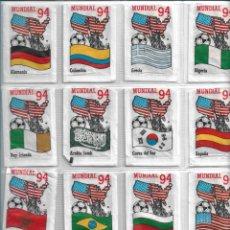 Bustine di zucchero di collezione: MUNDIAL FUTBOL 94, SERIE DE 24 SOBRES DE AZÚCAR VACIOS. CAFÉS BRASILIA.. Lote 228811920