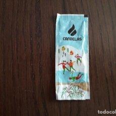 Pacotes de Açúcar de coleção: SOBRE DE AZÚCAR VACÍO DE PUBLICIDAD, CAFÉS CANDELAS, CON DIBUJOS ESQUIADORES.. Lote 264286836
