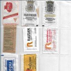 Bustine di zucchero di collezione: ARAGÓN, 9 SOBRES AZÚCAR VACIOS. RESTAURANT, HOTEL, BAR.... Lote 234033335