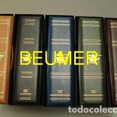 Sobres de azúcar de colección: BEUMER* - ALBUM SOBRES AZÚCAR,SUPERMAMUT,GRAN CAPACIDAD. Lote 235115795