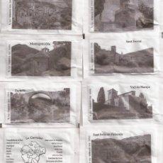 Bustine di zucchero di collezione: COLECCION COMPLETA 21 SOBRES AZUCAR -LA GARROTXA-. Lote 237549310