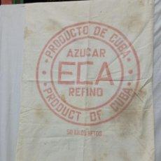 Sobres de azúcar de colección: SACO AZUCAR ECA CUBA 50 KG. Lote 239590450