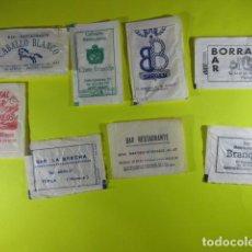 Bustine di zucchero di collezione: REF: SA-1234 - COLECCION MILES SOBRES AZUCAR SUGAR PACKET - LEER INT.- 8 UD. HUESCA GRAUS SABIÑANIGO. Lote 241890535