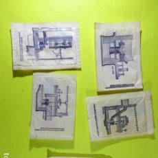 Bustine di zucchero di collezione: REF: SA-1234 COLECCION MILES SOBRES AZUCAR SUGAR PACKET LEER INT. 5 UD. MAQUINAS TRASVASE AGUA. Lote 241897435