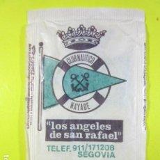 Sachets de sucre de collection: REF: SA-1234 COLECCION MILES SOBRES AZUCAR SUGAR PACKET LEER INT. 1 UD. SEGOVIA ANGELES SAN RAFAEL. Lote 241898955