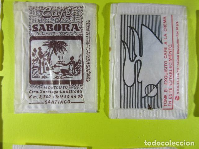Sobres de azúcar de colección: REF: SA-1234 COLECCION MILES SOBRES AZUCAR Sugar packet LEER INT. 10 UD. CAFE VIENA VENDIN SOL SABOR - Foto 3 - 241900815