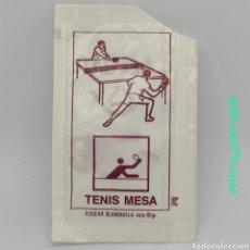 Bustine di zucchero di collezione: SOBRE DE AZÚCAR SERIE DEPORTES OLÍMPICOS - TENIS MESA. RAMPE, 10 GR.. Lote 242270170
