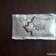 Sobres de azúcar de colección: SOBRE DE AZÚCAR VACÍO DE PUBLICIDAD, CAFÉ RESTAURANT ARGANA, MARRAKECH. Lote 243320640