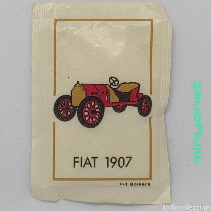 SOBRE DE AZÚCAR SERIE AUTOMÓVILES ANTIGUOS - FIAT 1907. CAFÉS BRASILIA. IND. BOLSERA, 10 GR. (Coleccionismos - Sobres de Azúcar)