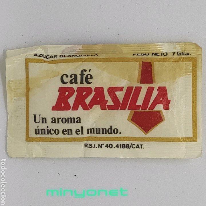 Sobres de azúcar de colección: Sobre de azúcar Serie automóviles antiguos - Citroën. Cafés Brasilia. Probrasa, 7 gr. - Foto 2 - 245371695