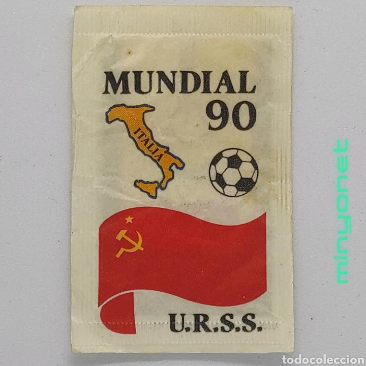 SOBRE DE AZÚCAR SERIE MUNDIAL 90 - U.R.S.S., CAFÉS BRASILIA. 10 GR. (Coleccionismos - Sobres de Azúcar)
